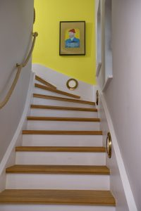 Ferienwohnung Westerland Sylt yellow upmarine_Flur