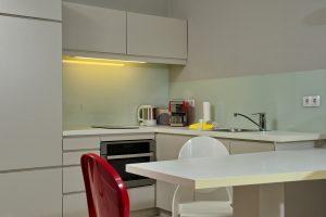 Sylt Bungalow L - Ferienwohnung, Küche
